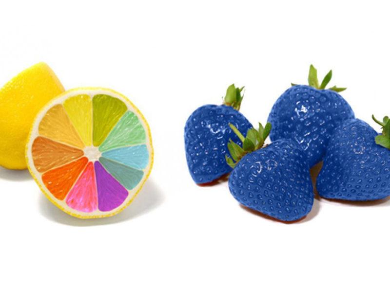 Blog: Bunte Zitronen blaue Erdbeeren