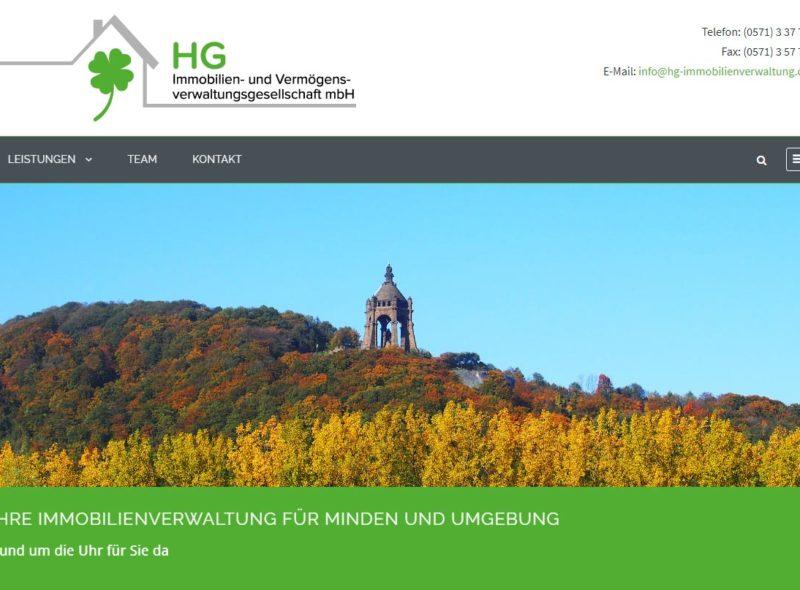 HG Immobilien- und Verwaltungsgesellschaft mbH - Ihre Immobilienverwaltung für Minden und Umgebung