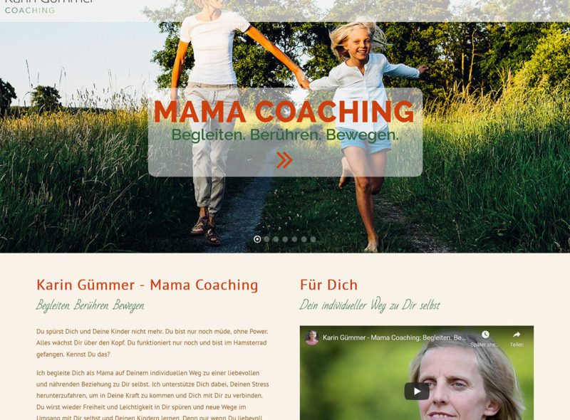 Karin Gümmer Mama Coaching
