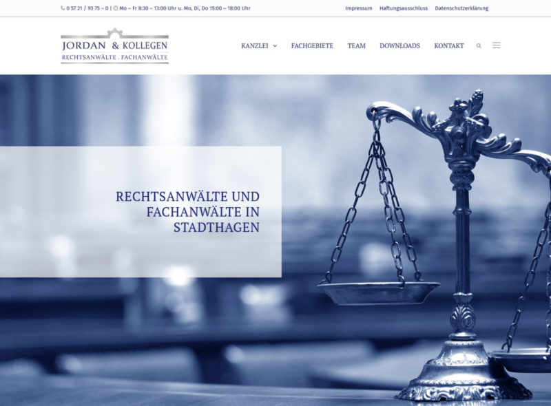 Jordan & Kollegen - Rechtsanwälte & Fachanwälte in Stadthagen