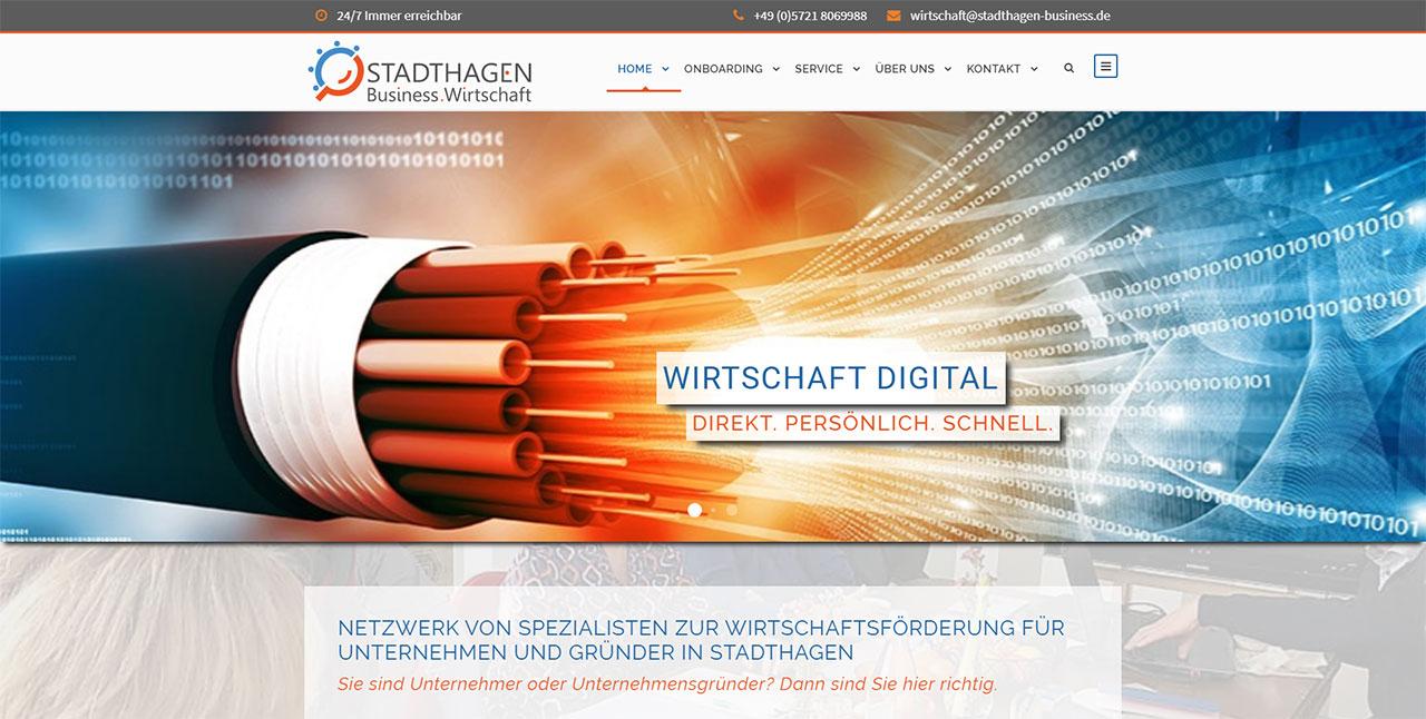 Stadthagen - Business . Wirtschaft