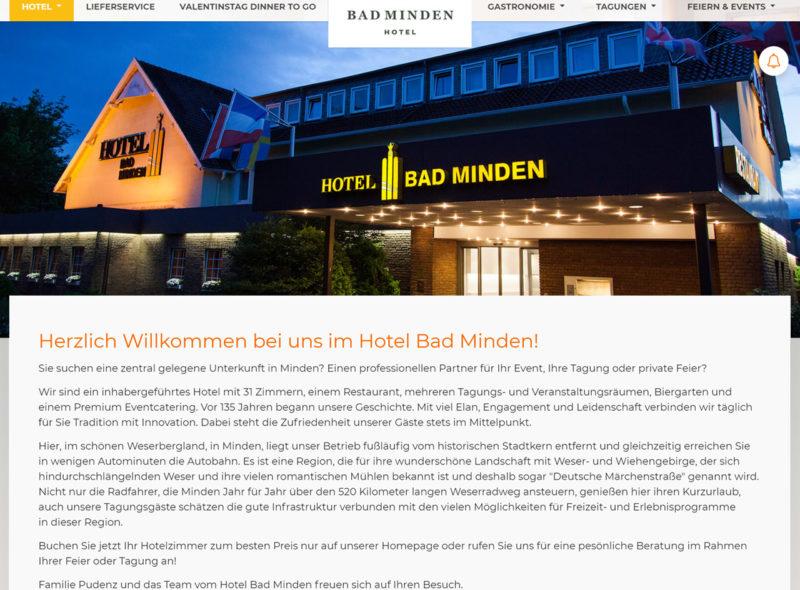 Hotel Bad Minden, Philipp Pudenz