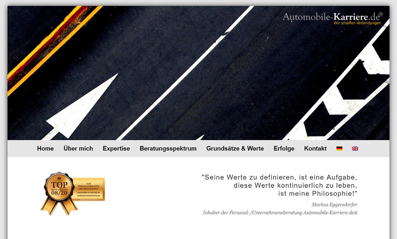 Automobile-Karriere® - Markus Eggersdorfer