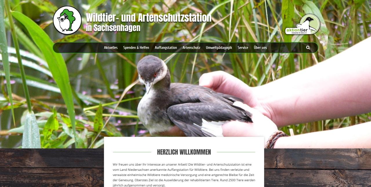 Wildtier und Artenschutzstation in Sachsenhagen