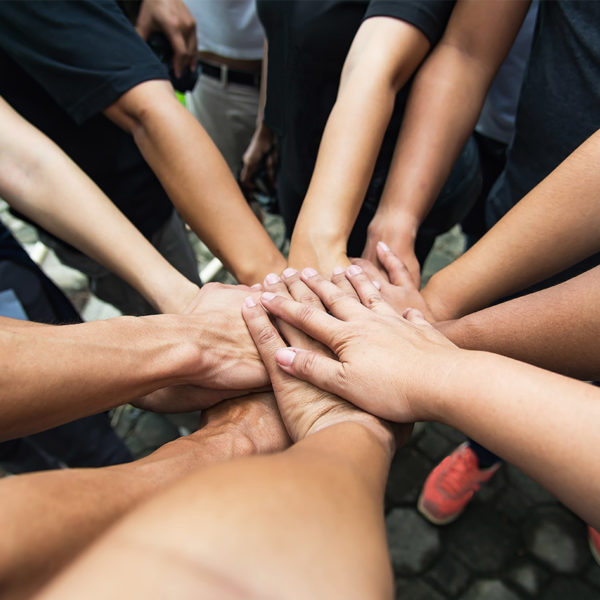 Agentur-Team von double or nothing: Gemeinsam sind wir stark!