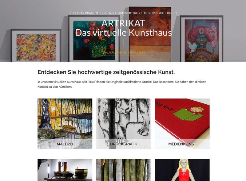 ARTRIKAT - Das Kunstportal | Kaufen Sie Kunst direkt beim Künstler!