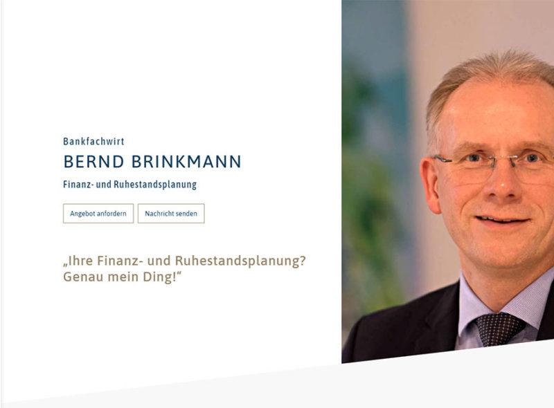 Bernd Brinkmann - Finanz- und Ruhestandsplanung