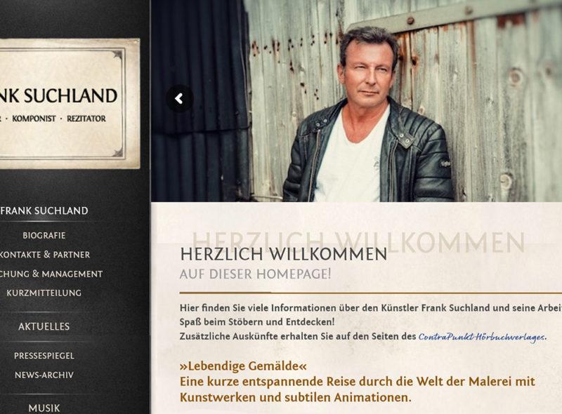 Frank Suchland - Autor - Komponist - Rezitator