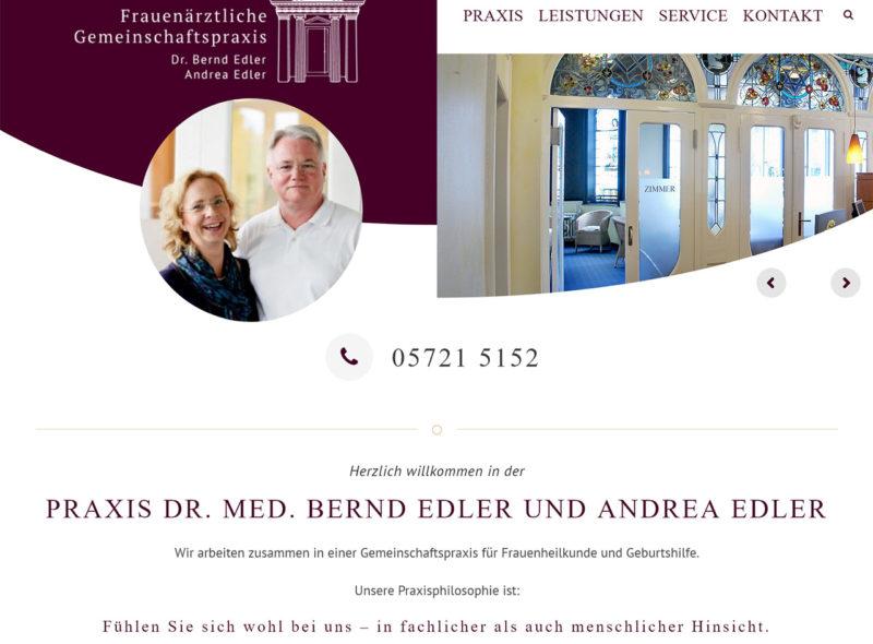 Praxis Dr. med. Bernd Edler und Andrea Edler - Frauenärzte in Stadthagen