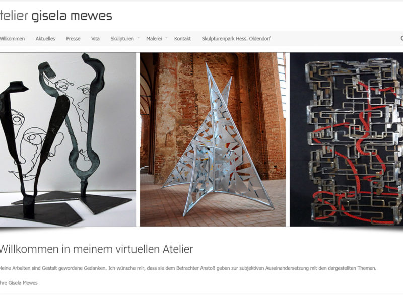 Atelier Gisela Mewes in Hessisch Oldendorf