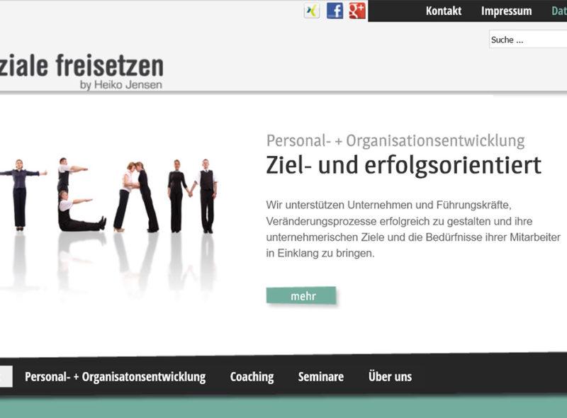 Potenziale freisetzen by Heiko Jensen: Personal- und Organisationsentwicklung