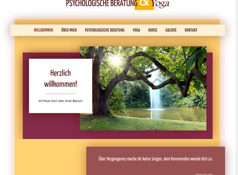 Ulrike Dewers - Psychologie und Yoga