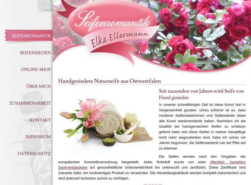 Seifenromantik (Elke Ellermann): Handgesiedete Naturseife aus Ostwestfalen