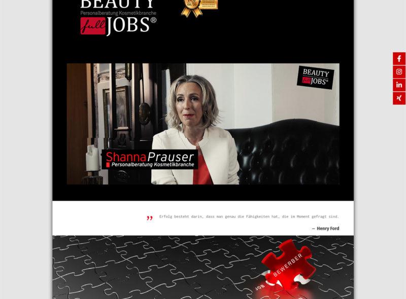 BEAUTY full JOBS - Personalberatung Kosmetikbranche - Shanna Prauser